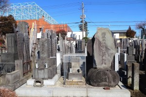 最上徳内の墓(蓮光寺)