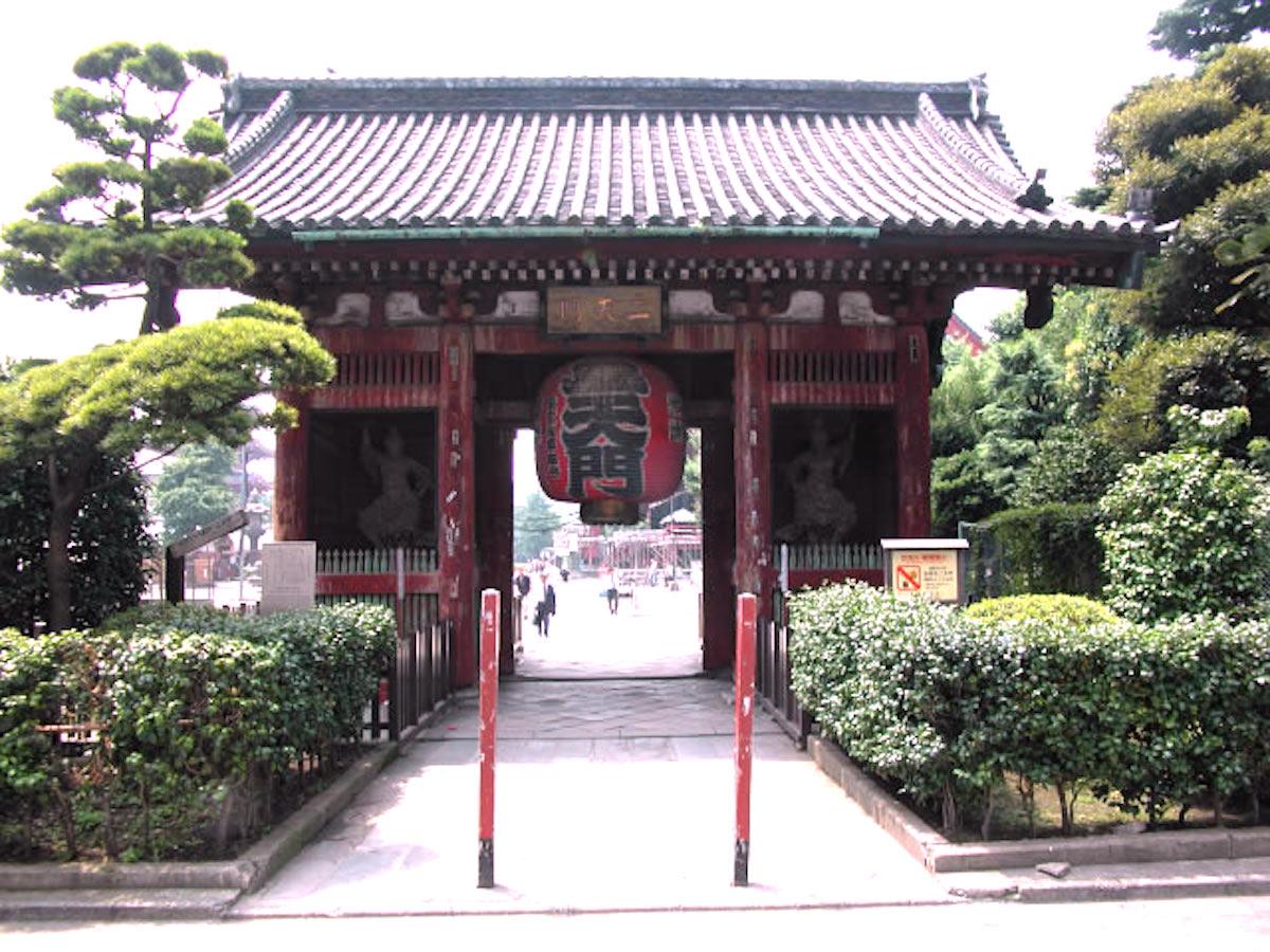浅草寺・二天門