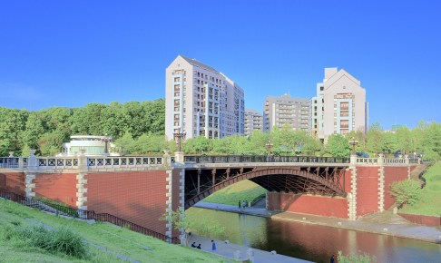 長池見附橋(旧四谷見付橋)