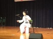 中国楽器二胡演奏