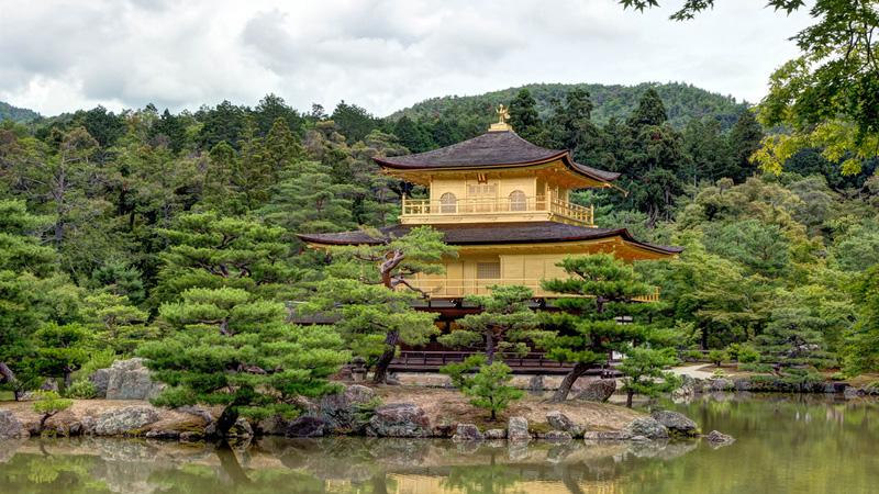Kinkaku Ji Tempel in Kioto