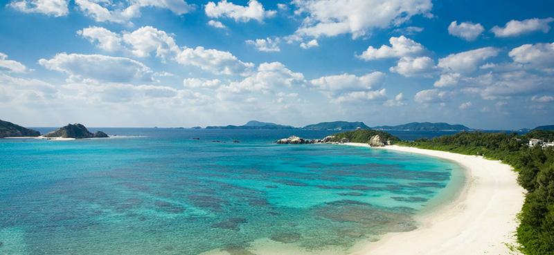 Okinawa tropische eilanden