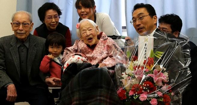Oudste vrouw Japan