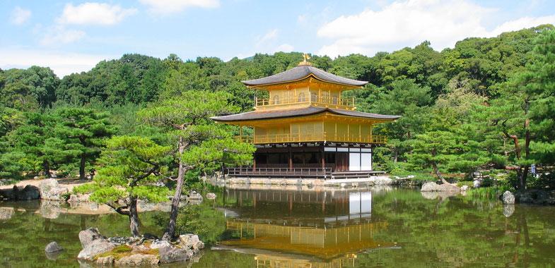 Kinkaku-ji tempel (gouden paviljoen)