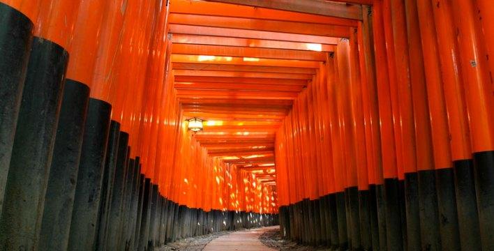 Храм Киото Инари