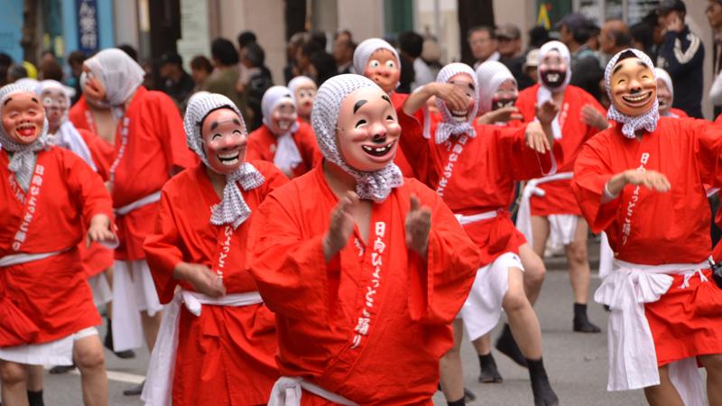 Haka Dontaku festival in Fukuoka