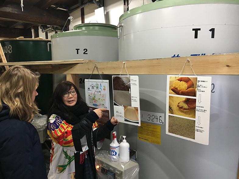 Takayama saké brouwerij