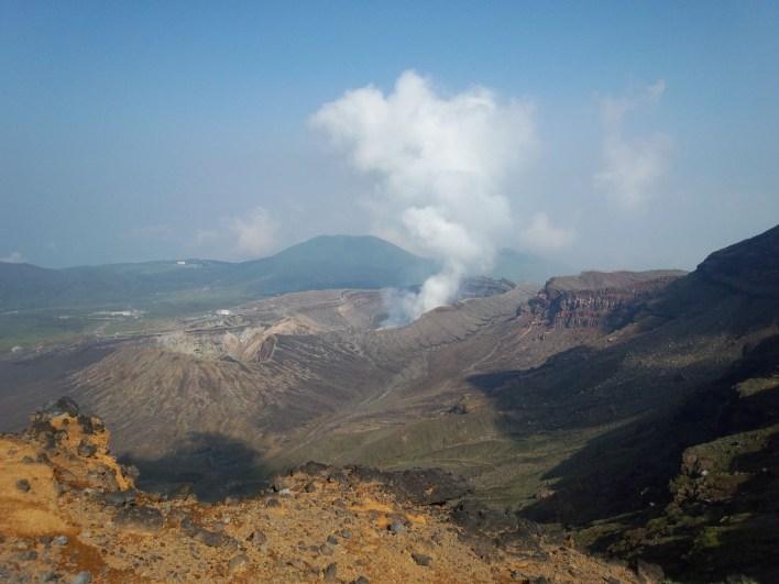 Асо вулкан Кюсю Япония