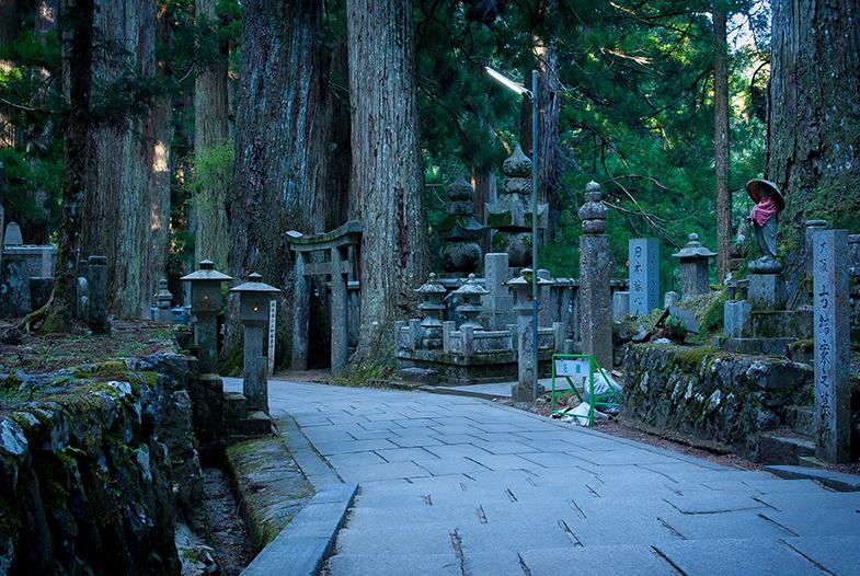 Okunoin begraafplaats