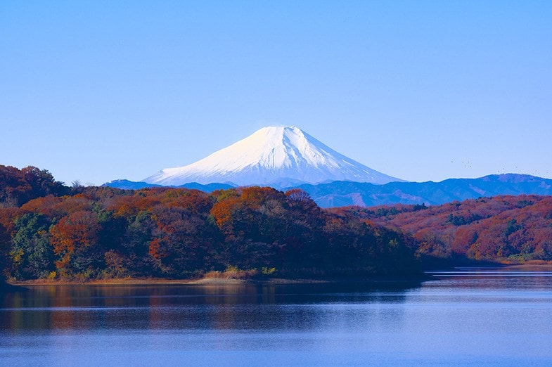 Uitzicht Mount Fuji Toyko