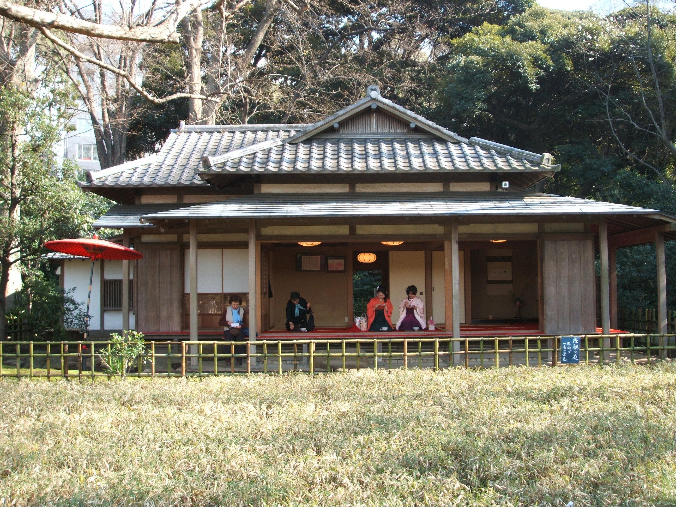 Japanese garden  Tokyo Five