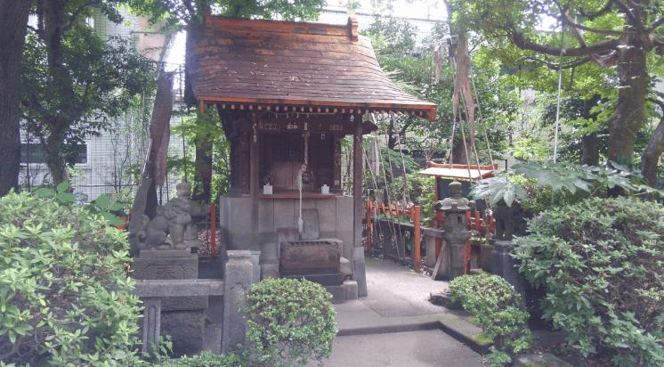 Former Yasuda garden – Japanese garden inari