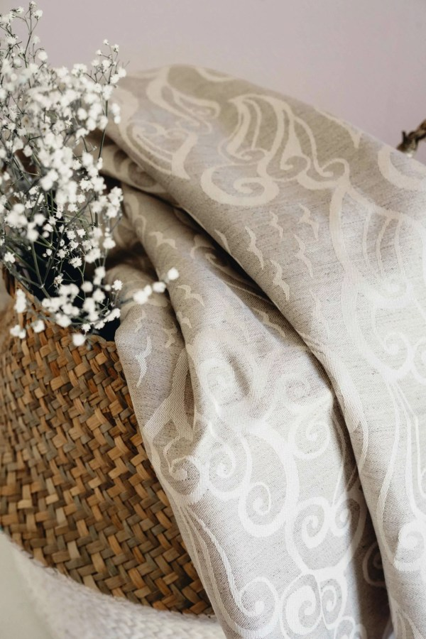 LIMAS baby wrap woven ozeana hemp cotton Germany