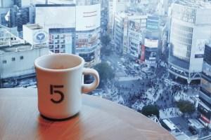 ファイブクロスティーズコーヒー渋谷スクランブルスクエア店