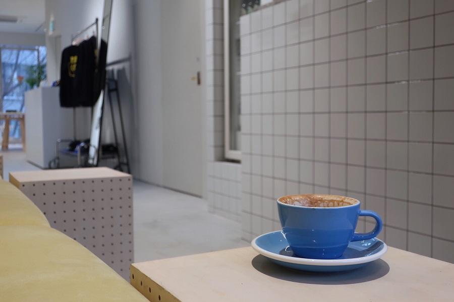 アニエスベー渋谷店カフェ
