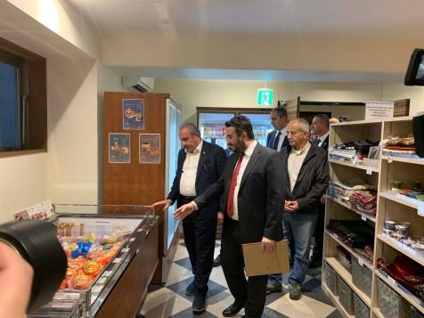 2019.11.05 Visitation of Prof. Dr. Mustafa Şentop, Speaker of the Grand National Assembly of Turkey 05