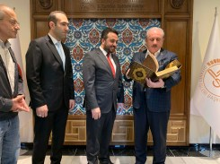 2019.11.05 Visitation of Prof. Dr. Mustafa Şentop, Speaker of the Grand National Assembly of Turkey 06