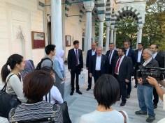 2019.11.05 Visitation of Prof. Dr. Mustafa Şentop, Speaker of the Grand National Assembly of Turkey 12