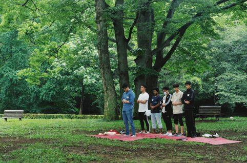 第16回ヤングムスリム倶楽部「代々木公園でピクニック」