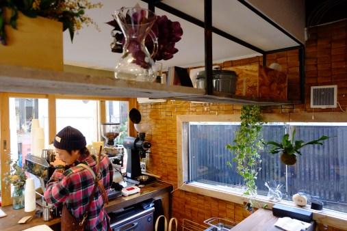 Interior Workspace Onibus Coffee Nakameguro Tokyo Japan Cafe