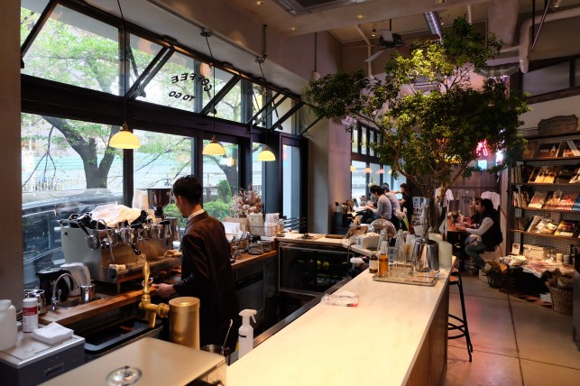 Inside Workspace The Workers Coffee and Bar Meguro Tokyo Cafe