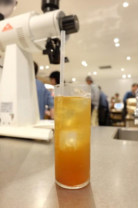 Signature Drink at Blue Bottle Coffee Shinjuku Japan Tokyo