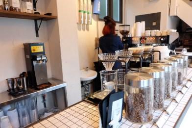 Hario V-60s at Counterpart Coffee Gallery Nishi Shinjuku Tokyo Japan