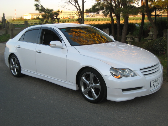 Buy a car in Japan Toyota Mark X 250G S-Package