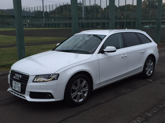 sell my car in Japan - Audi A4 Avant