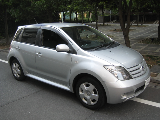 Sell your car in Japan Toyota Ist