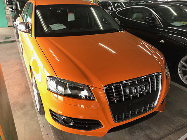 Export to New Zealand Audi S3 Sportback