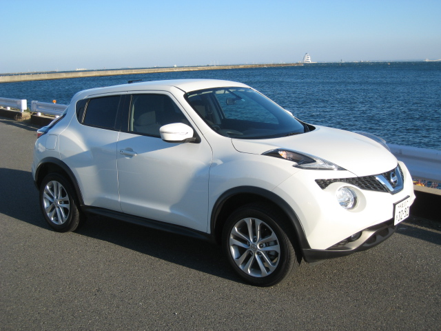 Export to New Zealand Nissan Juke