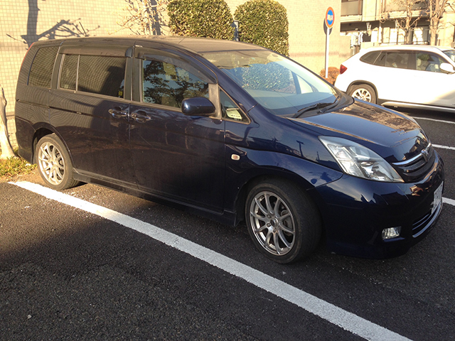 Sell my car in Japan Toyota Isis Platana
