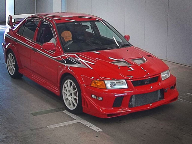 Mitsubishi Lancer Evo Vi Tommi Makinen Passion Red