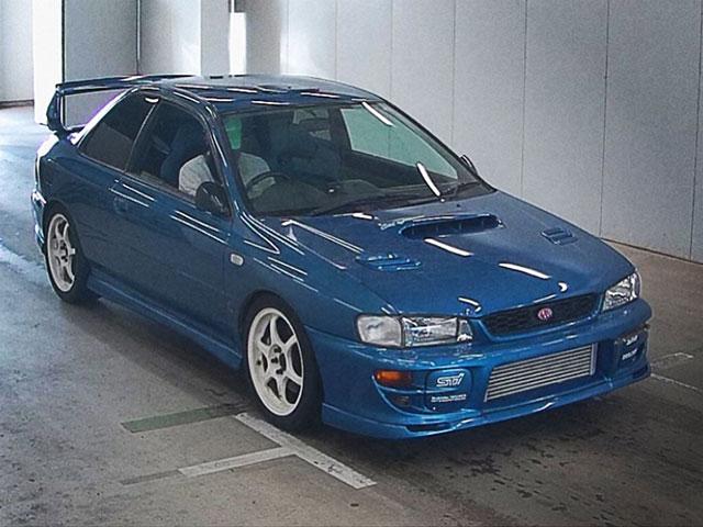 2000 Subaru Impreza WRX STi Type R Limited Coupe