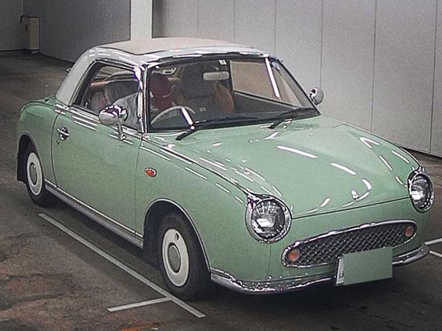 Nissan Figaro Emerald Green