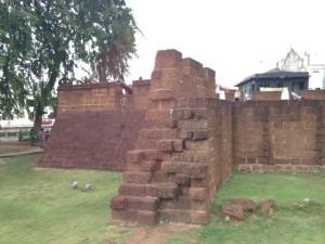マラッカ市内にはいろいろ遺跡が・・・
