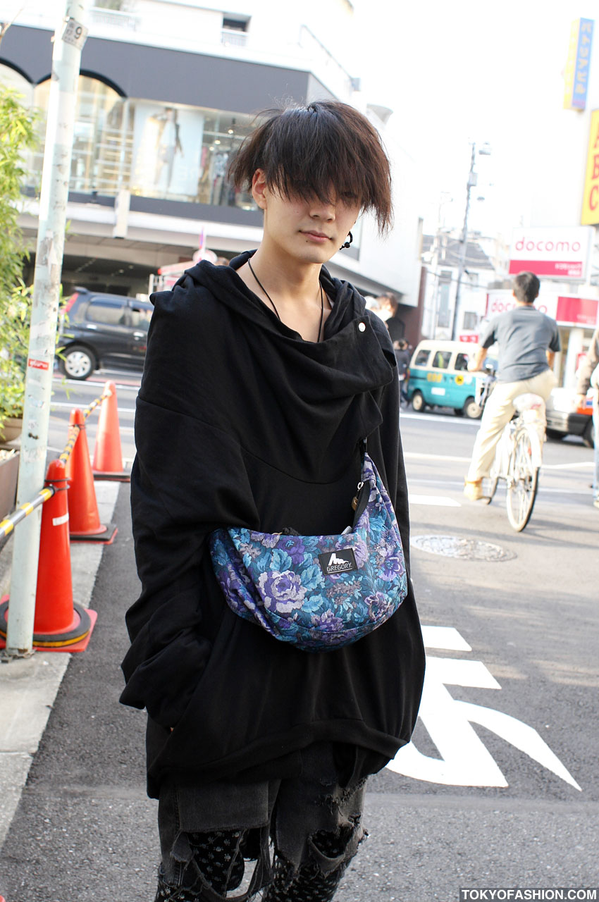 Cute Japanese Short Hairstyles In Harajuku