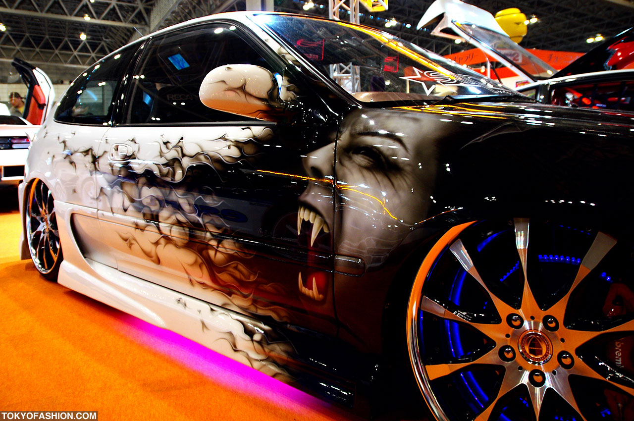 Crazy Anime Girl Wallpapers Tokyo Auto Salon 2010 Pictures
