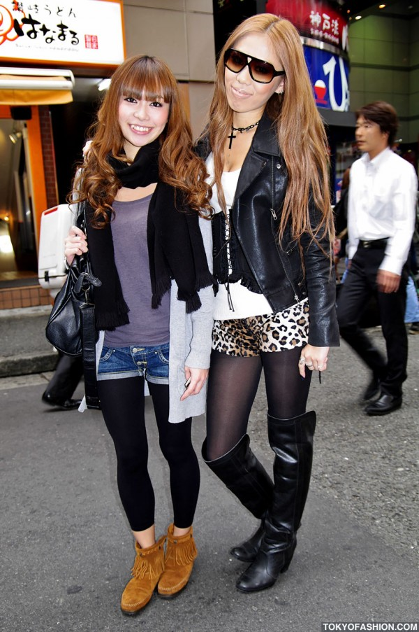 Shibuya Girls in Short Shorts