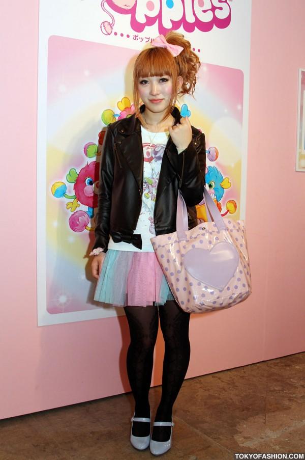 Pretty Japanese Girl in 6%DOKIDOKI Fashion