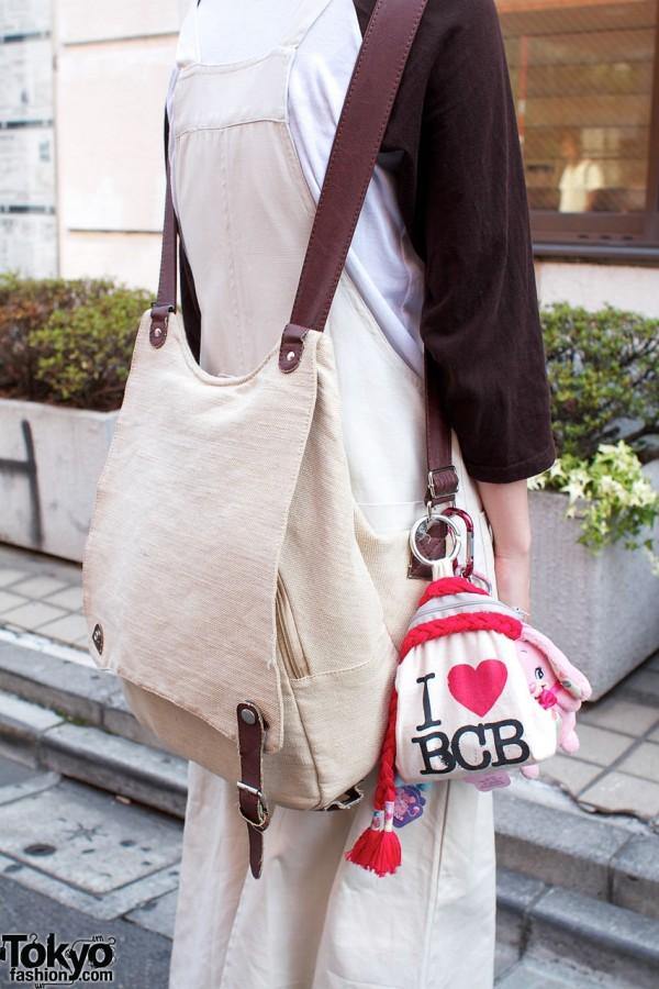 Resale linen backpack & BCB bag