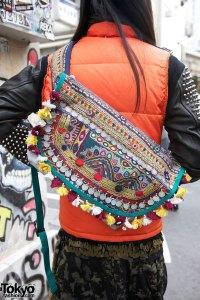 Raf Simons Zipper Boots & Ethnic Bags