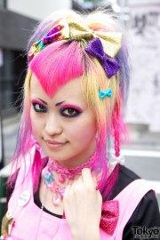 6 dokidoki vani's kawaii pink hairstyle