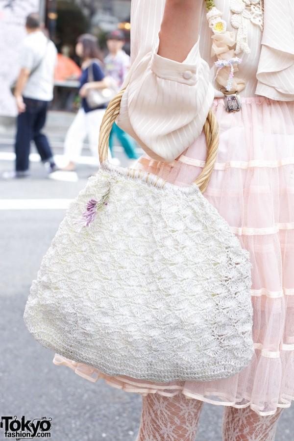 Yukinkos Handmade Flowered Suspenders Katyusha Amp Shoes