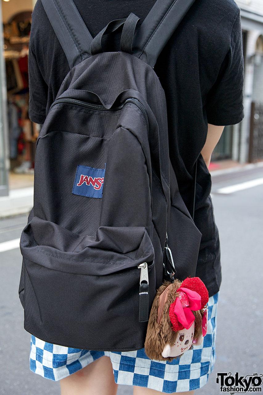 JanSport Backpack X Monchhichi Tokyo Fashion News