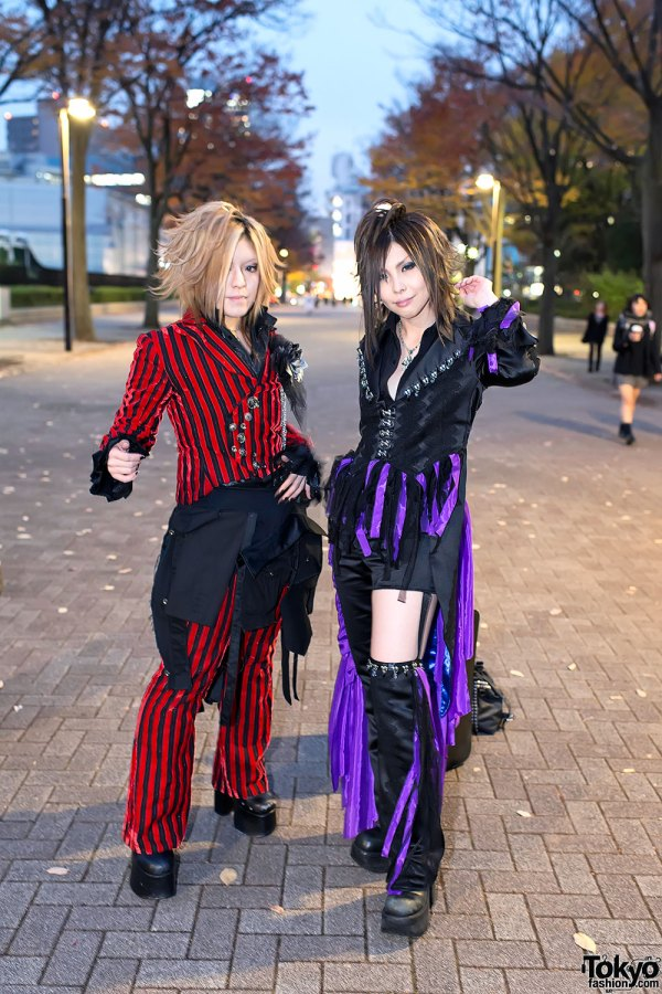 "Gazette ""live Tour12"" Fan Fashion Snaps In Tokyo"
