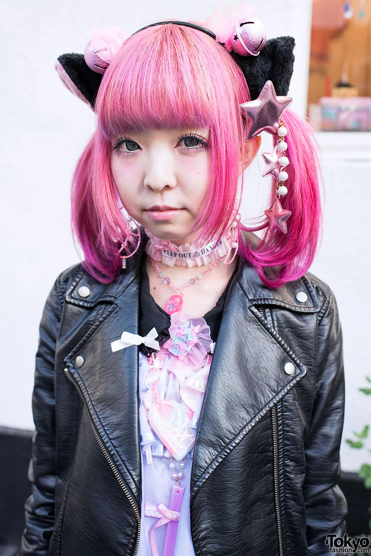 Mocos Cute Cat Ears 6DOKIDOKI Amp Strawberry Planet In