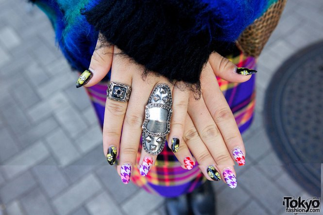 Meet Nagi A K Nail Artist Extraordinaire Nagisa Kaneko She Lives And Works In The Hip Shia District Of Tokyo Where Runs An Awesome Salon Called