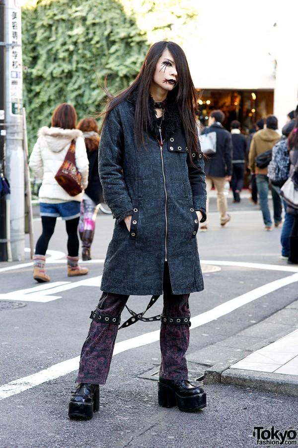 Kyouka In Harajuku W Algonquins Fashion Gothic Makeup